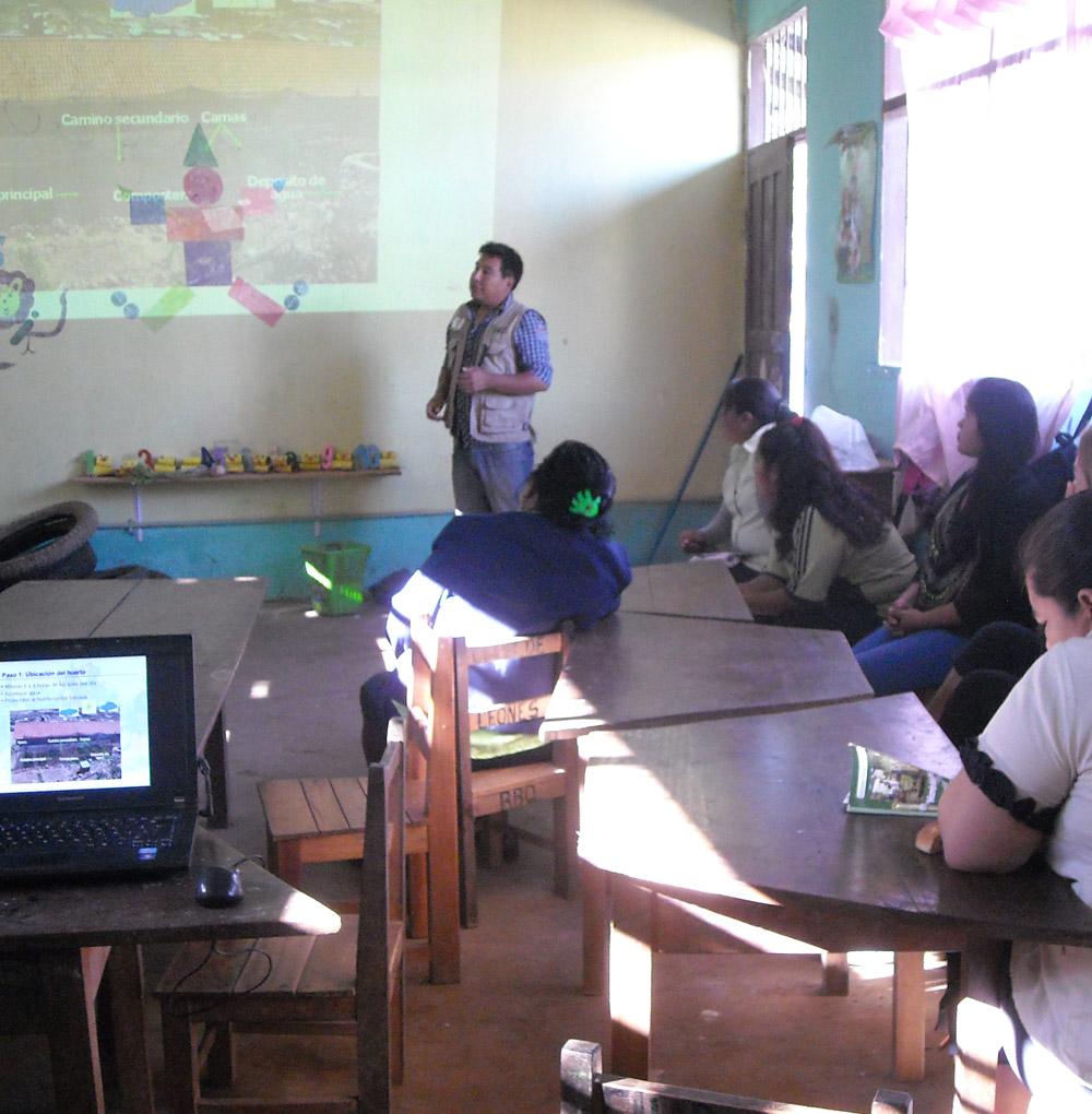 Schooltuinen Bolivia